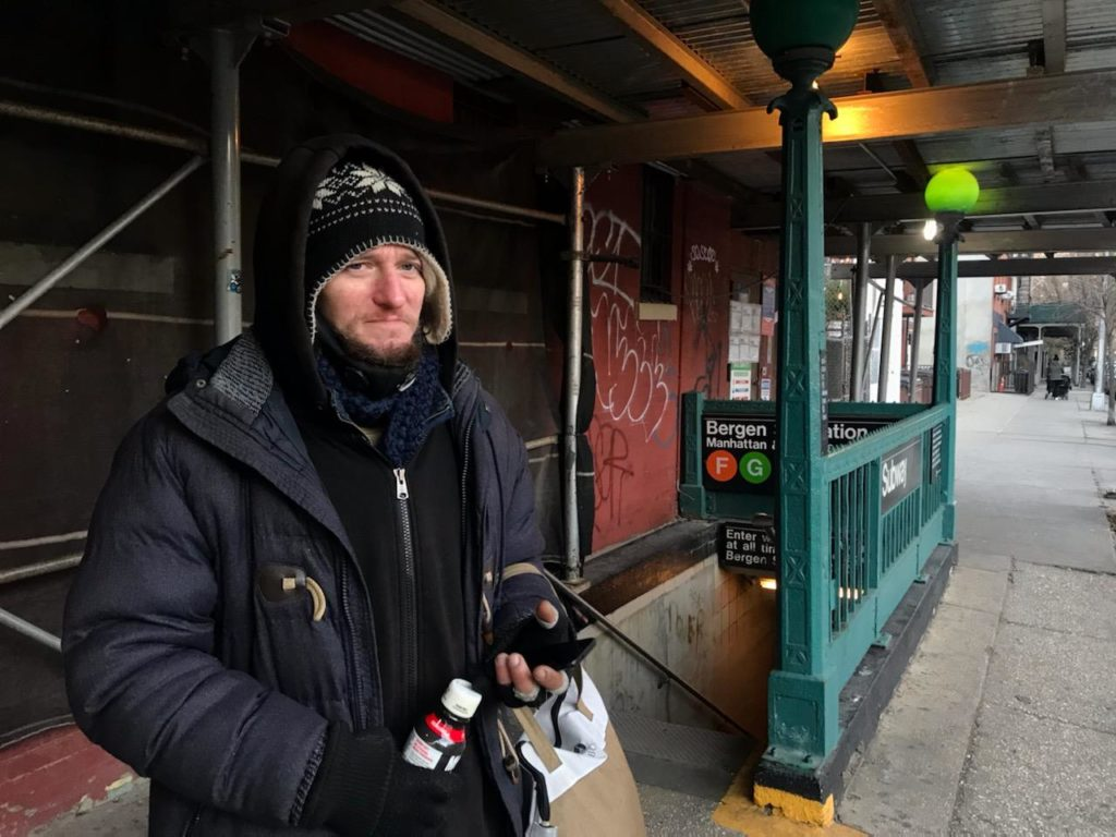 """It's a life or death situation out here"": a brutal winter for unsheltered New Yorkers"