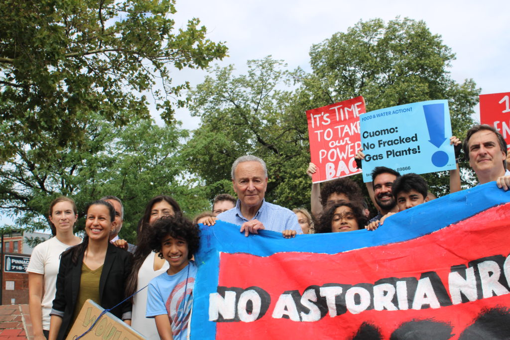 Schumer Joins Fight Against Astoria Power Plant Proposal