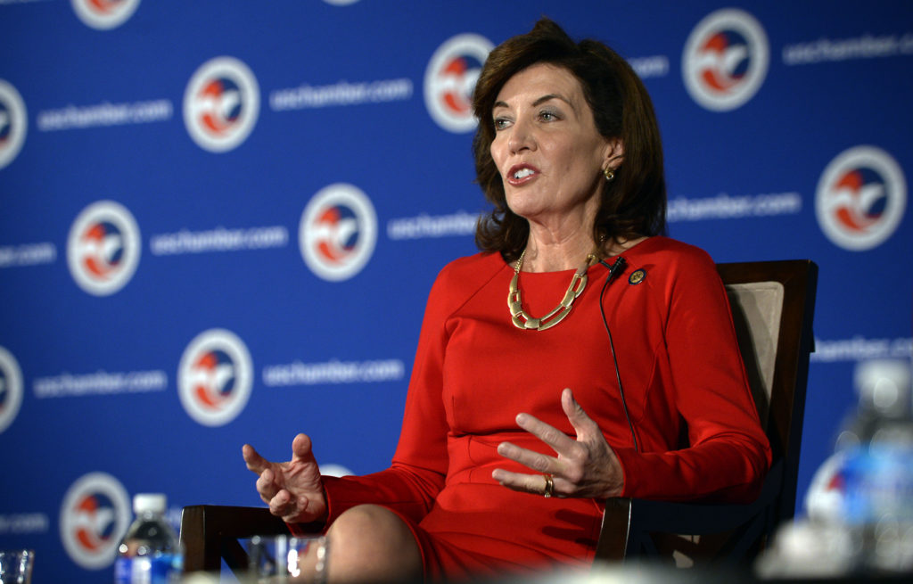 Senate #2 Joins Mounting Opposition to Hochul's Pick for Top Financial Regulator